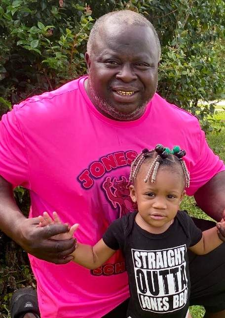 Mr. Jones with his daughter
